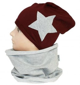 Children's cotton hat with a fireplace w-84D