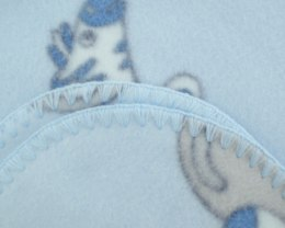 Fleece baby blanket 001F